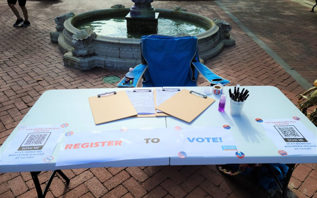 Voter Registration in Cape May